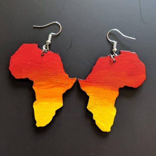 Africa Sunset Earrings